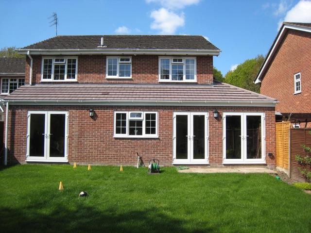 Image 15 - Hethersett single story open plan extension completed.