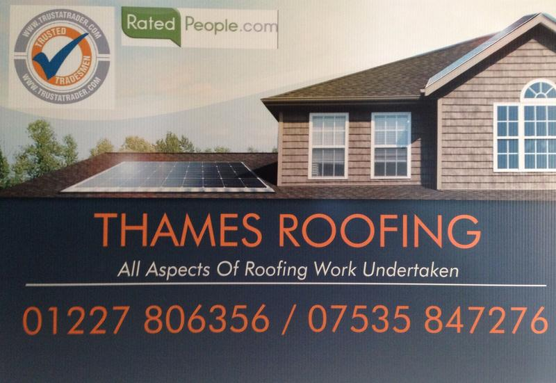 Thames Roofing  logo