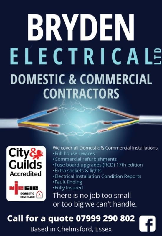 Image 29 - New flyers. Bryden Electrical
