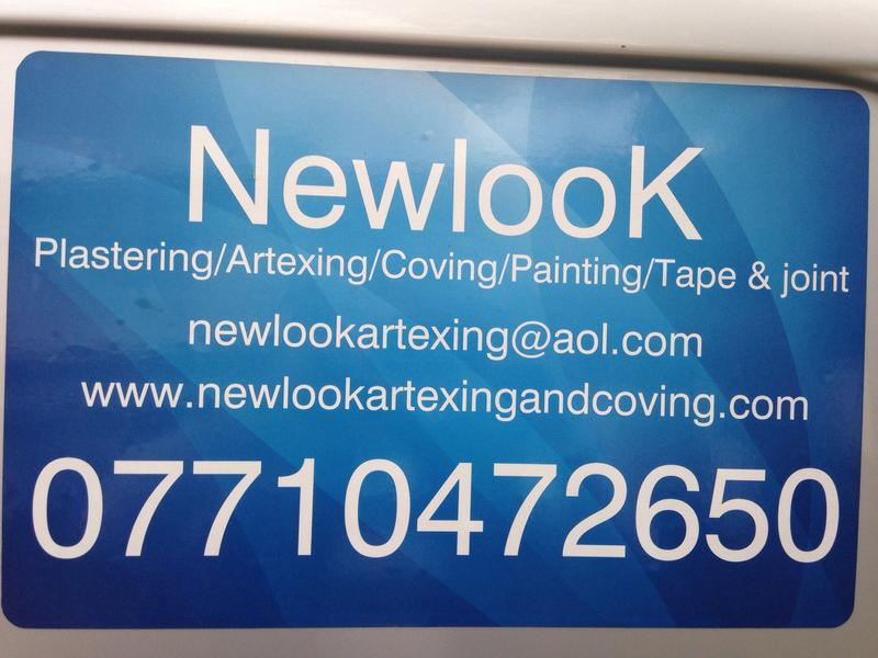 New Look Artexing & Coving logo