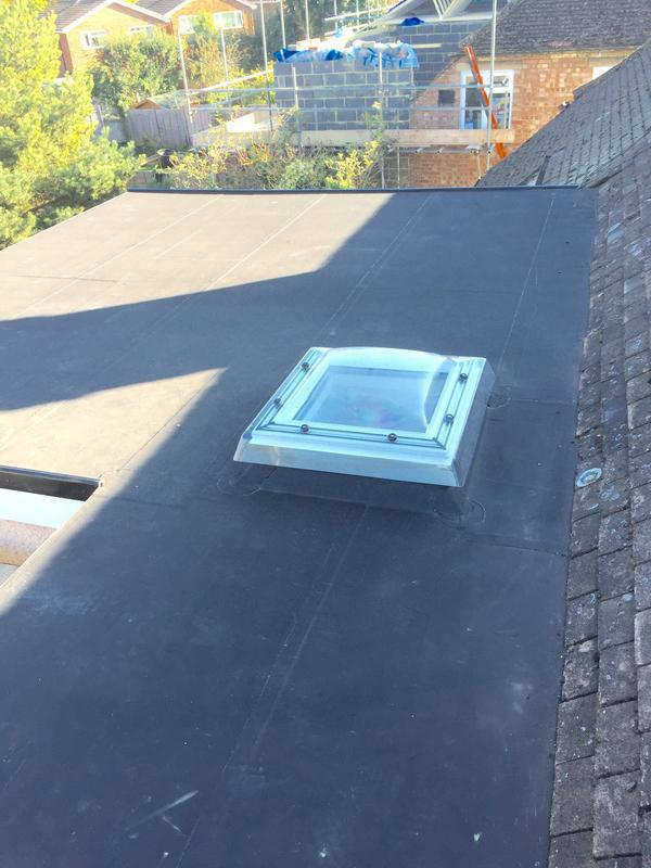 Image 4 - New Velux skydome and EPDM rubber roof installed