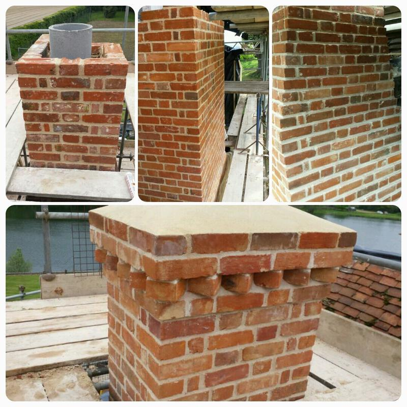 Image 7 - Brand new chimney built from scratch.