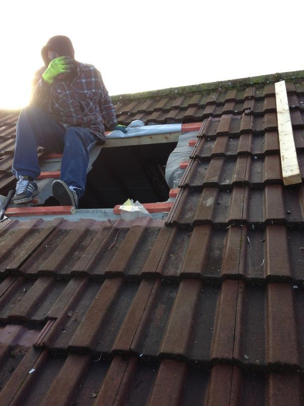 Image 43 - Velux  fitted