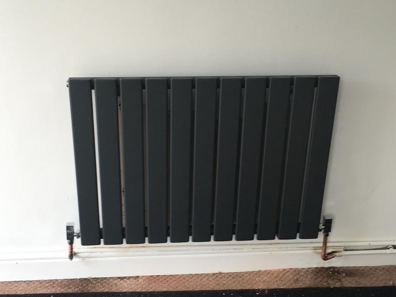 Image 37 - New modern style radiator and valves