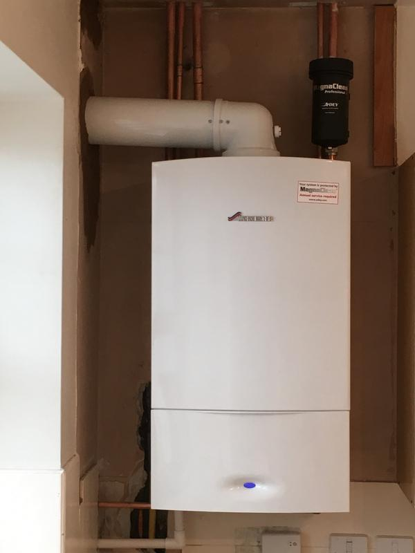 Image 30 - worcestor boiler installed with 5 years warranty