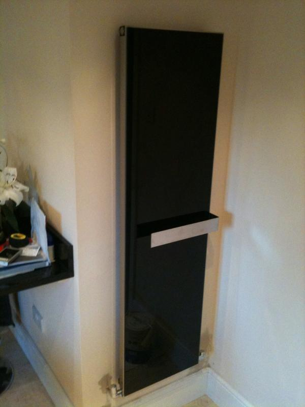Image 3 - glass fronted radiators with towel rail