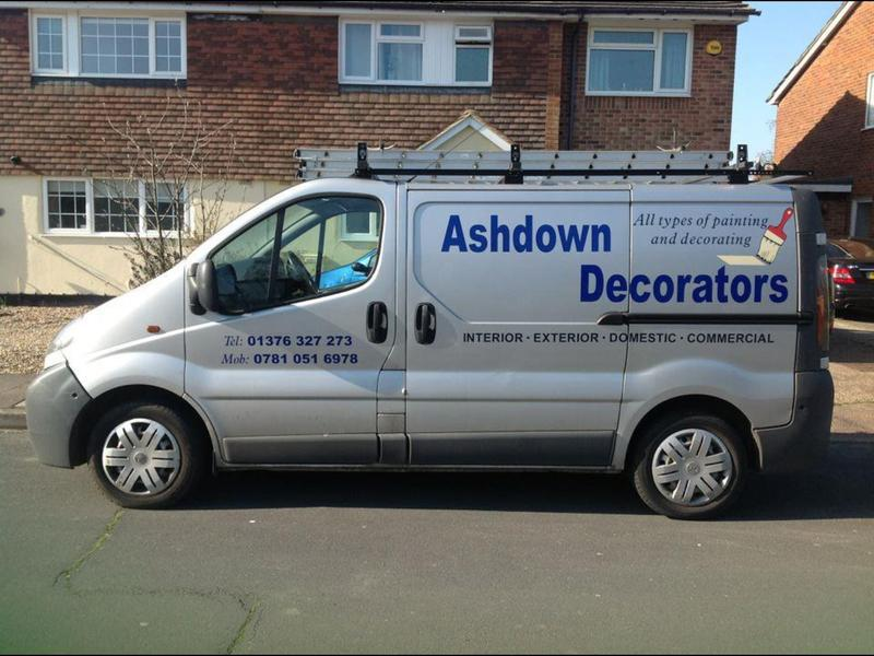 Ashdown Decorating logo