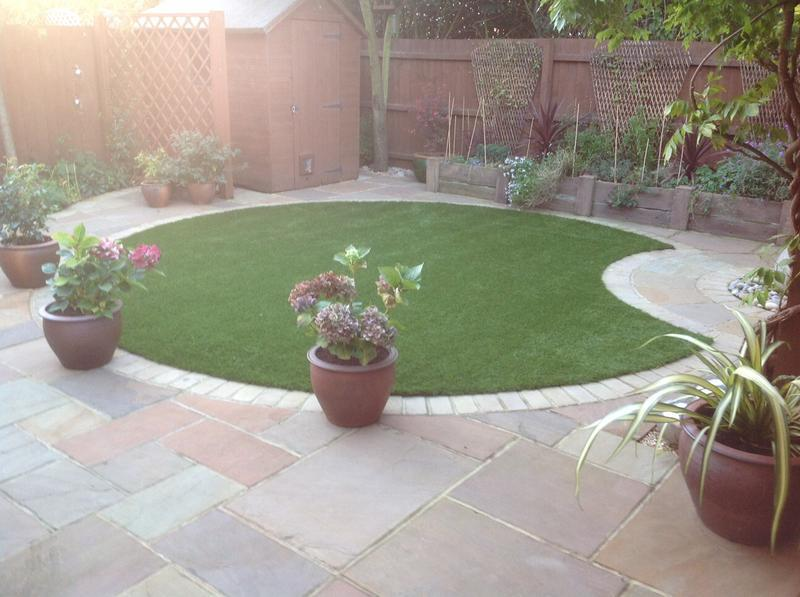 Image 14 - Artificial Grass and patio