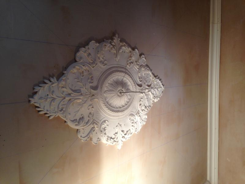 Image 110 - ceiling roses fixed