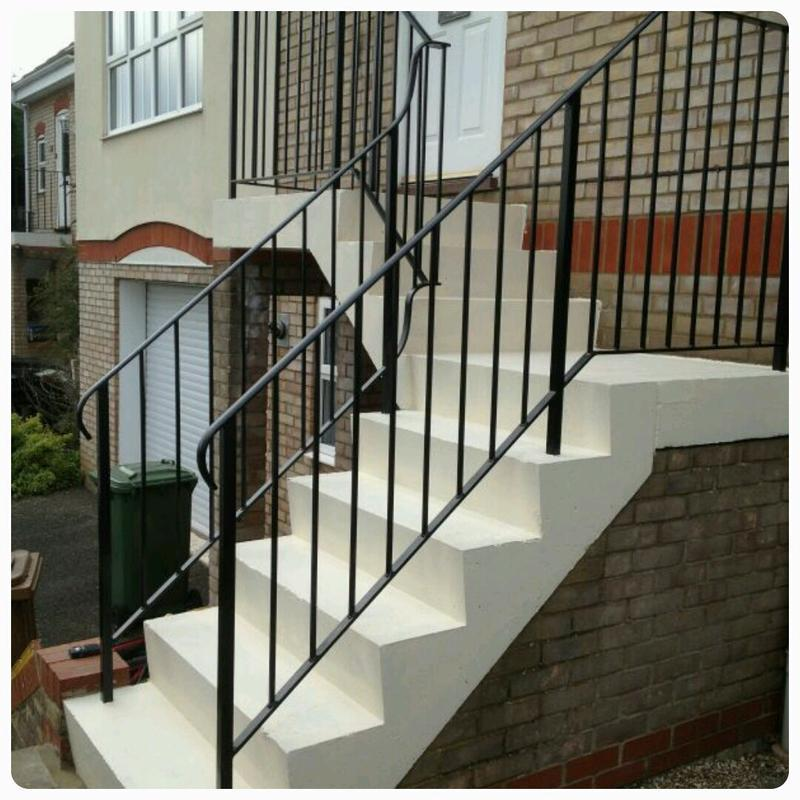 Image 9 - Stairs and railings repaired and refreshed.