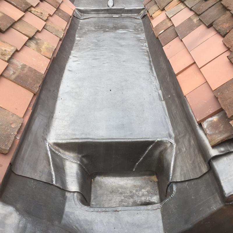 Image 31 - Lead speceialist - box gutter brickendon herts