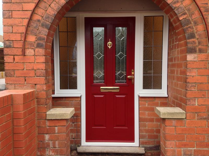 Image 1 - Red solidor composite with flag windows Duffield road