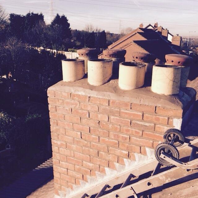 Image 60 - chimney work
