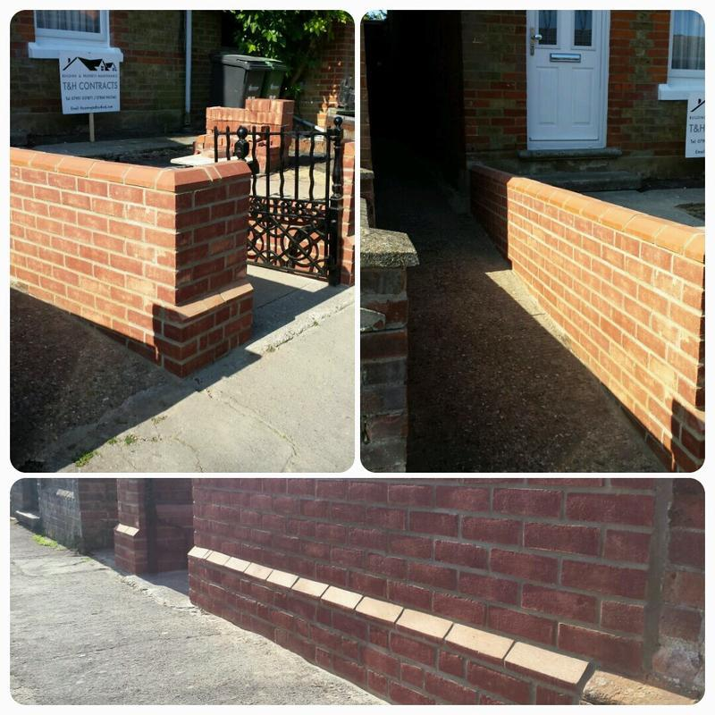 Image 2 - Brand new front garden wall.