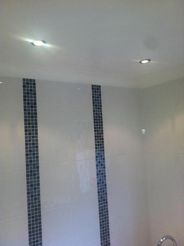 Image 30 - Downlighting in bathroom.