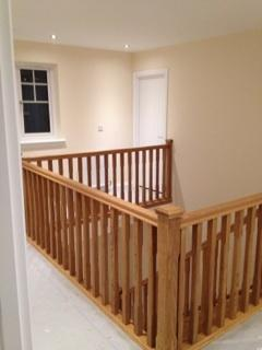 Image 18 - Oak balustrade.