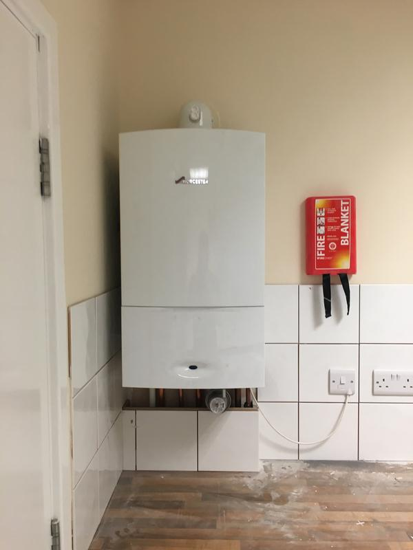 Image 39 - brand new worcester boiler supplied and fitted