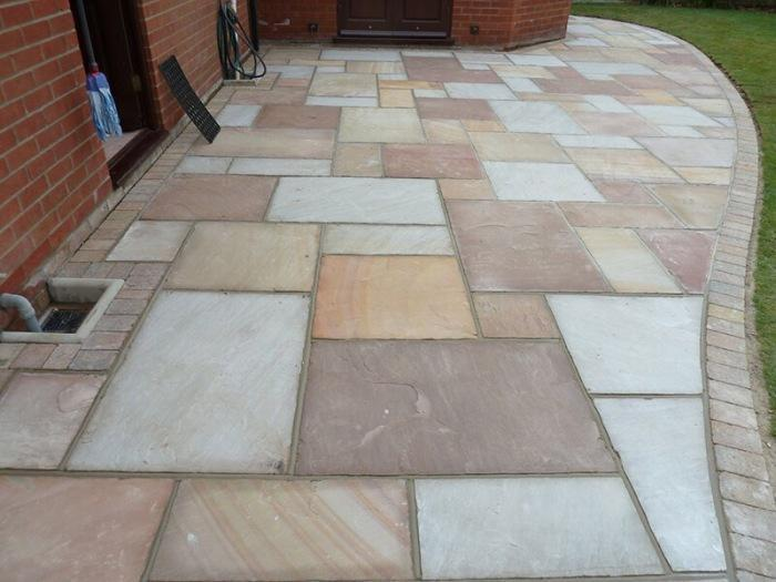 Image 63 - Natural paving Indian sandstone
