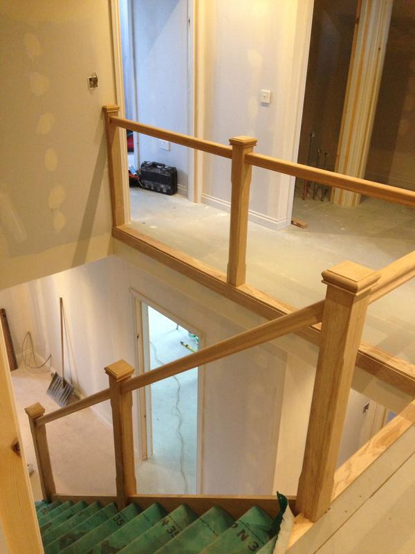 Image 19 - Stair ready for glass balustrade