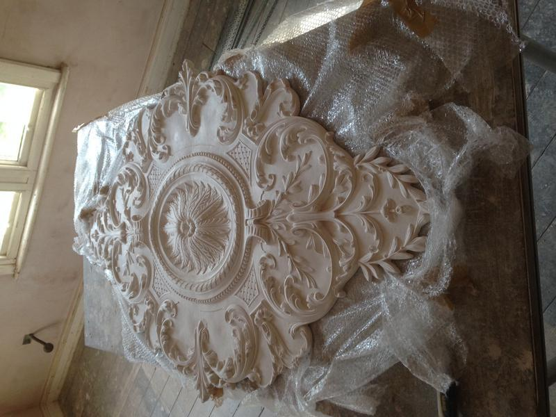 Image 121 - Ceiling rose before installation