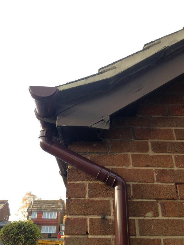 Image 6 - Old rotten fascias with loose pointing