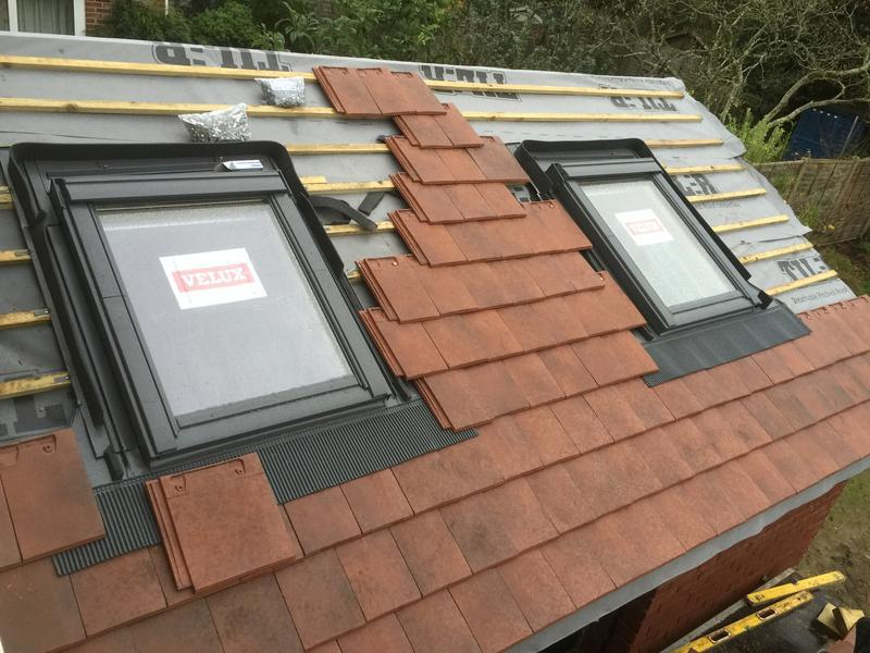 Image 94 - New extension roof with velux windows