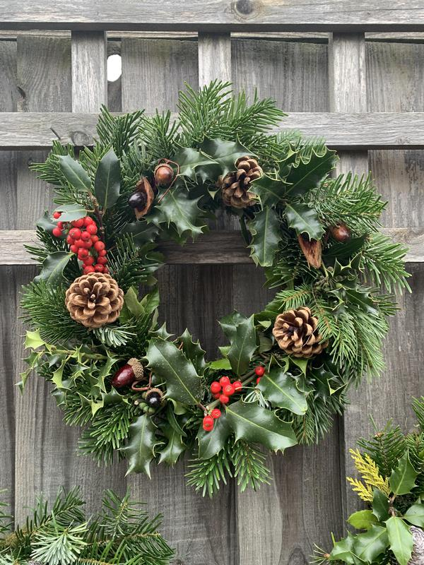 Image 3 - Holly wreathes - please call Sharon 07831137917