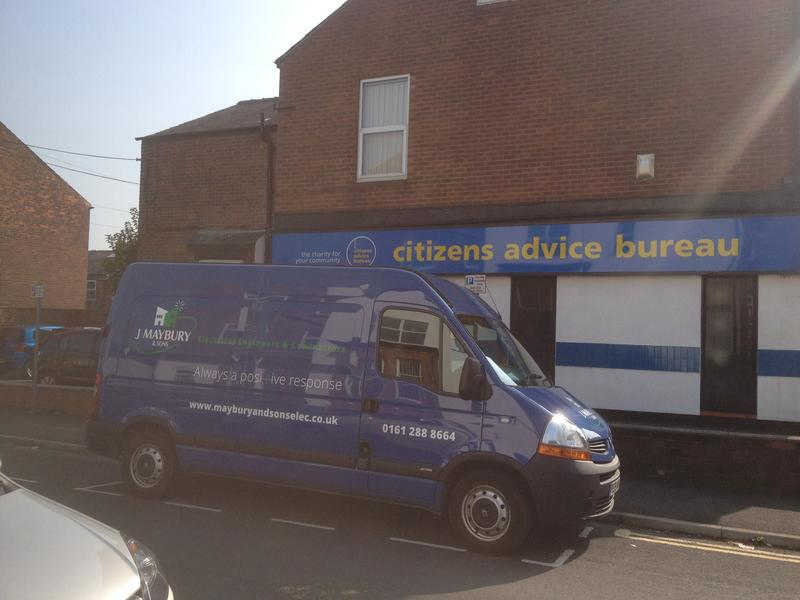 Image 1 - We have helped Salford Citizens Advice Bureau with testing and maintenance for over 10 years