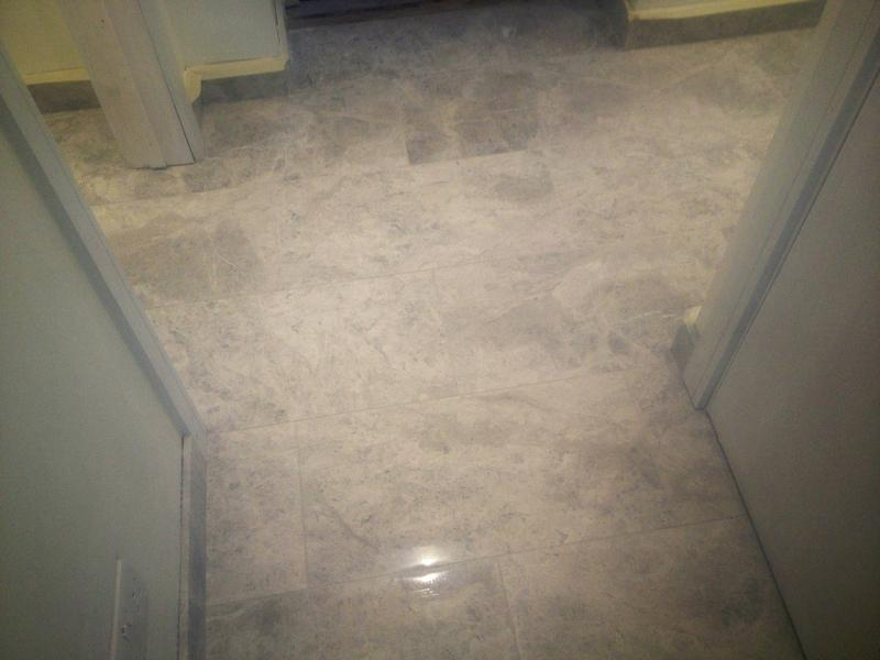Image 23 - Grey marble floor & skirting