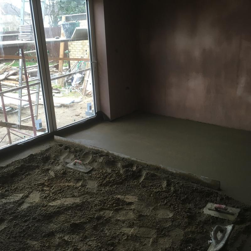 Image 65 - Screed layed with laser