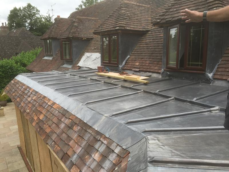Image 4 - Lead roofing in knebworth