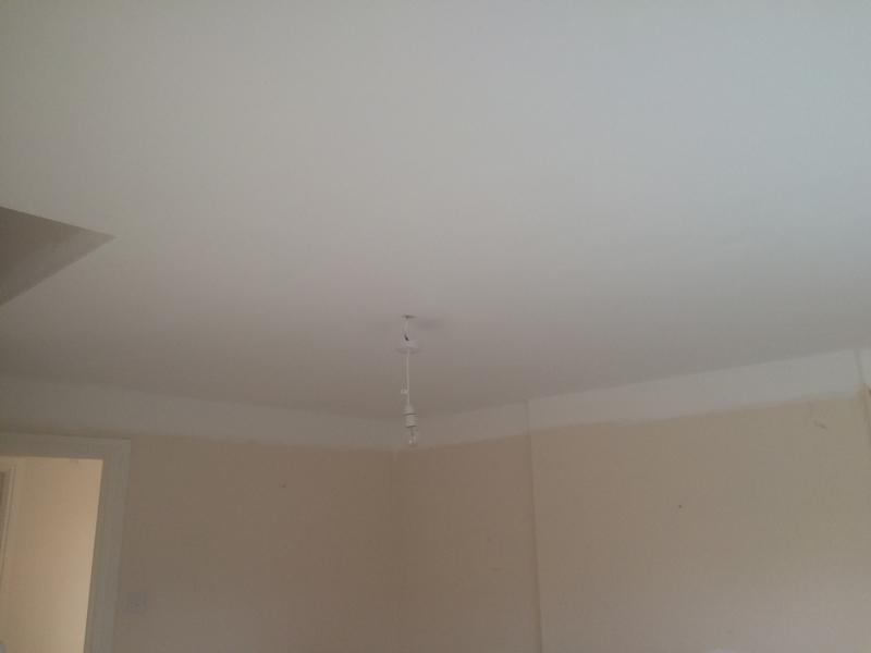 Image 39 - Ceiling overboarded and skimmed