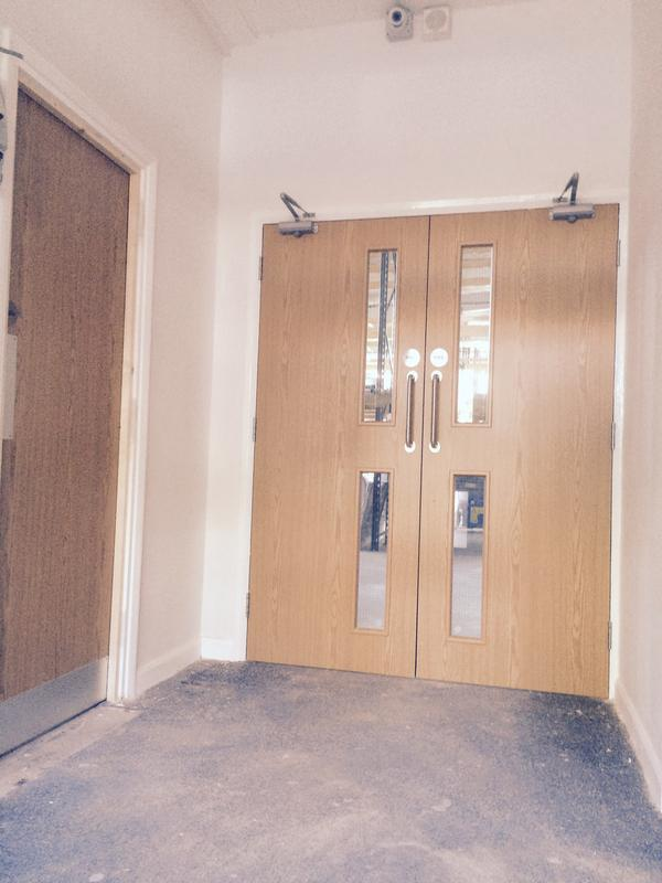 Image 77 - new fire doors fitted in commercisl premises being refurbished ready for the new owners