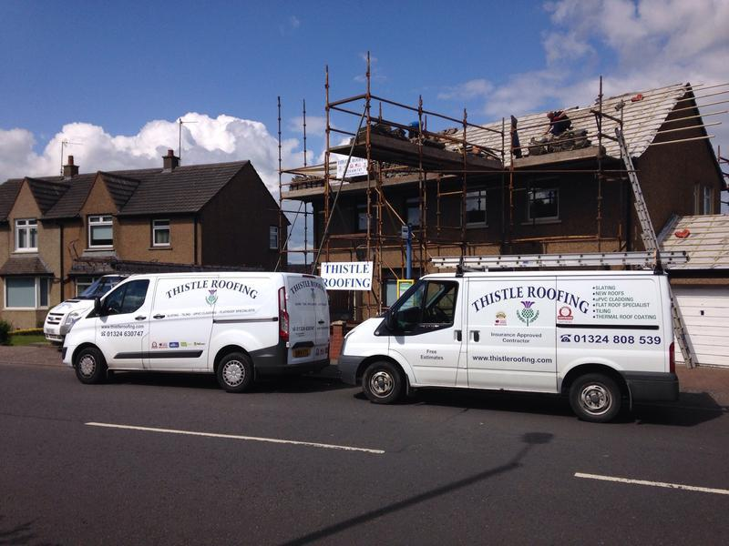Thistle Roofing Ltd logo