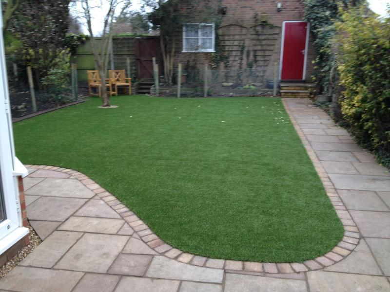 Image 13 - Patio and Artificial Grass