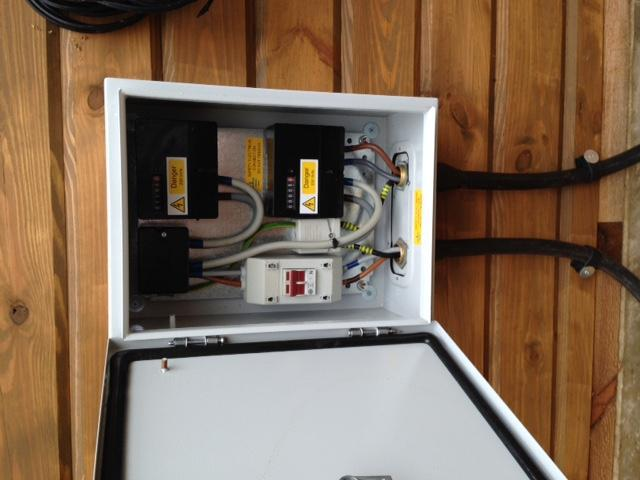 Image 89 - External switch gear. On a cabin