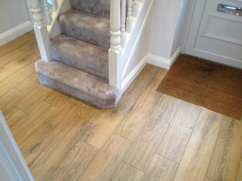 Image 53 - Timber effect porcelain tiles