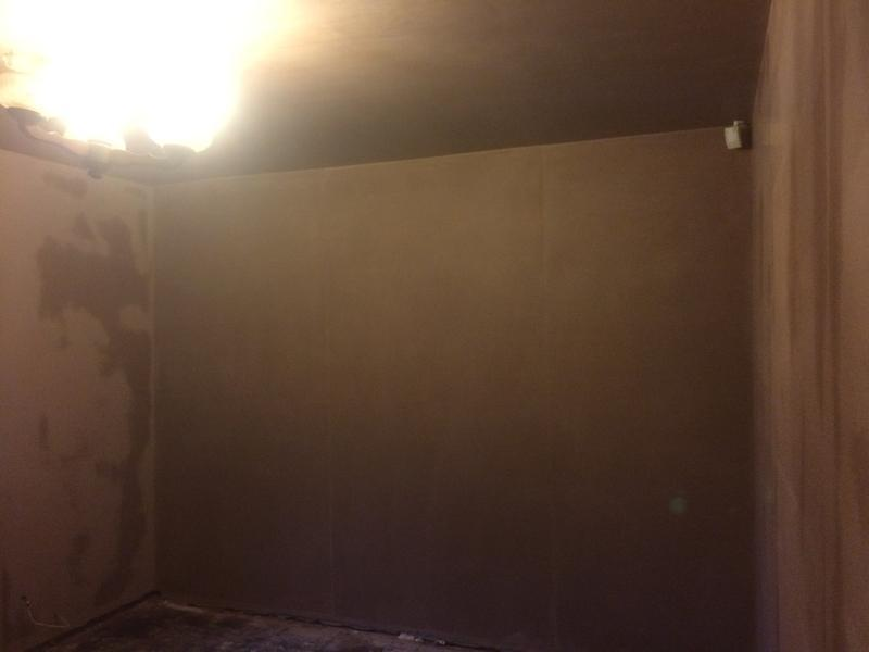 Image 54 - Lounge skimmed after dry lining