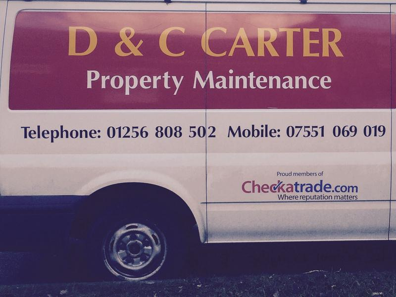 D & C Carter Property Maintenance logo