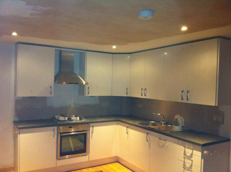 Image 12 - New installation  in kitchen  led lighting and sockets