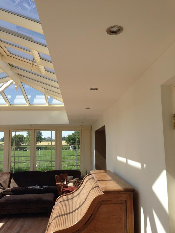 Image 4 - New orangery lighting.