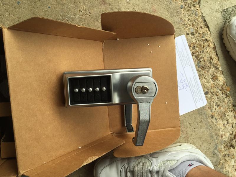 Image 3 - Kaba digi locks stocked on all vans