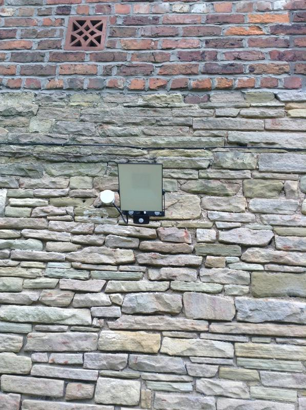 Image 5 - An outside light we recently fitted