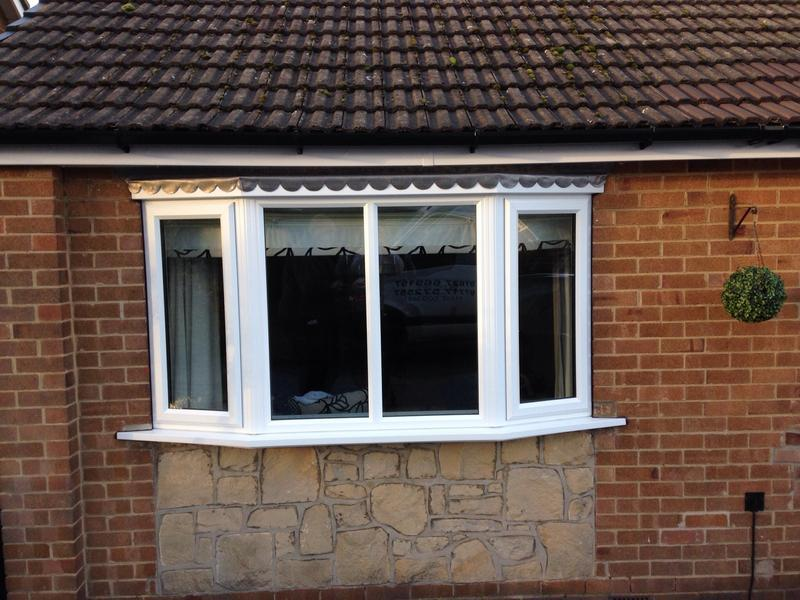 Image 9 - New bay window with new timber roof and new lead