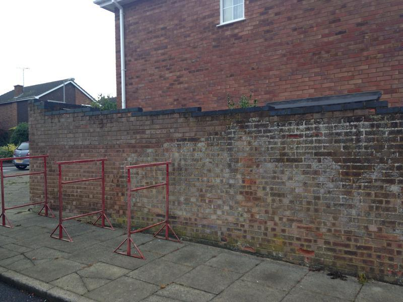 Image 49 - Before with blown brickwork