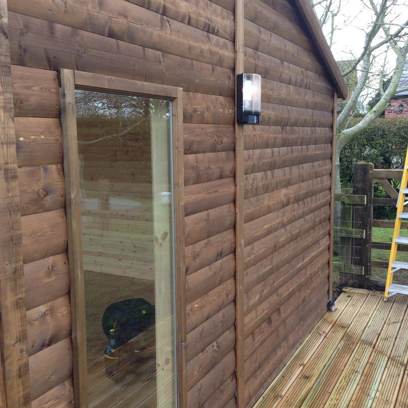 Image 15 - New summerhouse outside light