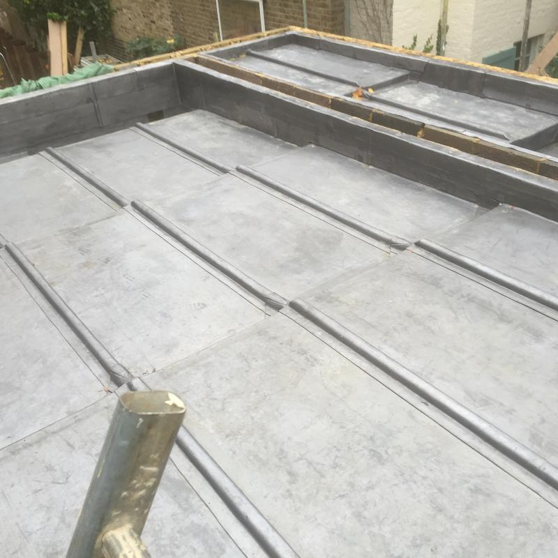 Image 7 - Lead flat roof Hampstead