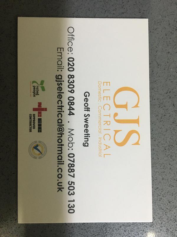 GJS Electrical logo