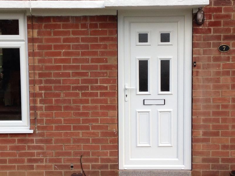 Image 31 - New upvc front door