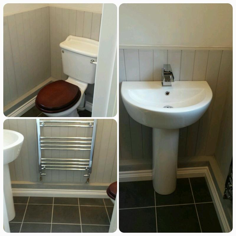 Image 19 - New downstairs cloakroom.